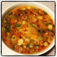 Laotian Chicken Noodle Soup