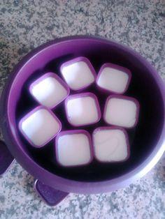 Aujourd'hui voici les yaourts fait maison dans le micro vap ,une réalisation d'une de mes cliente ,merci Carole