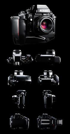 Nikon F4s - Austin Calhoon Photograph Giorgetto Giugiaro Design 1986