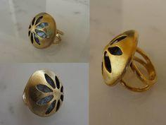 handmade jewellery - Kiki   χειροποίητα κοσμήματα: brass handmade ring, δαχτυλίδι από ορείχαλκο