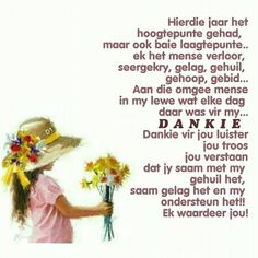 Baie Dankie, Happy New Year Pictures, Afrikaanse Quotes, Goeie Nag, Goeie More, Prayer Board, Anniversary Quotes, I Am Grateful, Happy Birthday Wishes