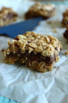 Cookie Butter Bars