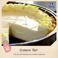 Cremora Tart - General Recipe from I Love Baking SA Tart Recipes, Sweet Recipes, Baking Recipes, Dessert Recipes, Oven Recipes, Cooking For Dummies, Delicious Desserts, Yummy Food, Different Cakes