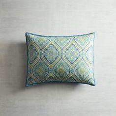 Turquoise Capri Tile Pillow Sham - Standard