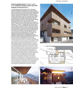 BFA   Ottagono, n.244 – October 2011 Editrice Compositori #architecture #mountains #design #interior #contemporary #modern