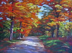 Artwork >> Bellemare Michel-André >> Walk on the path of colors