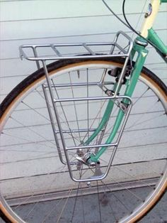 Article all about Nitto front racks & bicycle racks in general from Rivendell Bicycle Works.