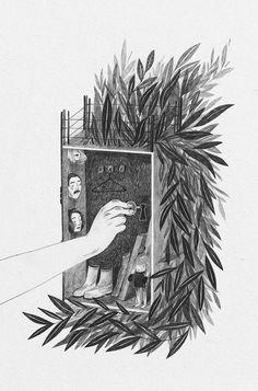 """Ilustraciones del libro """"City"""" por Anja Susanj 4"""