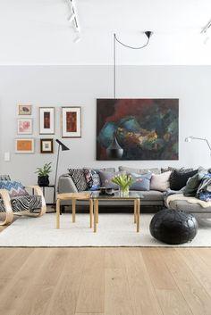 Nautical Interior, Nordic Home, Living Styles, Dream Decor, Scandinavian Interior, Home Living Room, Home Interior Design, Interior Inspiration, Sweet Home