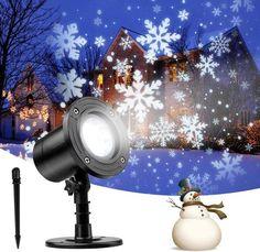 Projecteur De Lumière LED Pour Le Jardin de Noël – French Lovley Gifts Christmas Projector, Snowflakes Falling, Lampe Decoration, Outdoor Lighting, Outdoor Decor, Lumiere Led, Led Projector, Snow Scenes, Snowflake Pattern