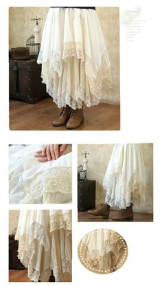Aliexpress.com : Buy Lace irregular skirt bust skirt laciness cotton skirt from Reliable cotton cpa suppliers on fashion loader | Alibaba Group
