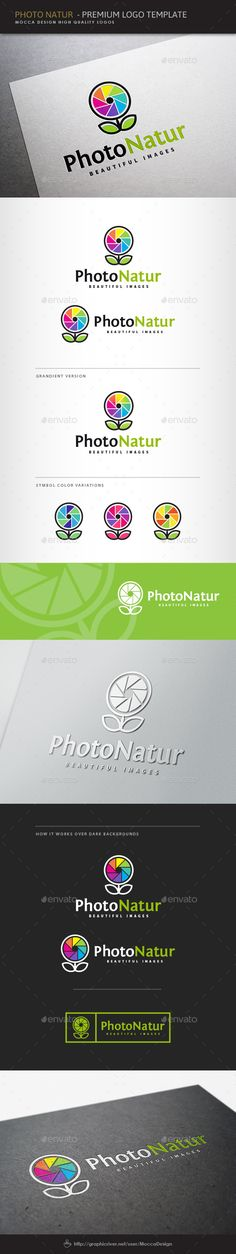 Photo Natur Logo Photo Natur is a clean and professional logo template suitable for any business or personal identity related to photography, nature, wildlife photographers, photojournalism, camera accessories and photography equipment, camera lenses, studios and magazines related to photography, an art gallery, stock photography sites, photographic location agencies, photo apps, a media agency and many other business areas.