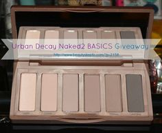 Enter this @BeautySkeptic #giveaway to #win an @UrbanDecay #Naked2Basics palette!