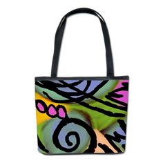 VIDA Statement Clutch - Funky Abstract Woman by VIDA HgPz9