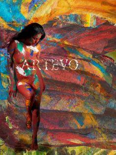 """Dawn"" Artevo / Veena Malik Project Artevo Edition 112,5x150cm artevo.fi"