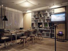 55 Modern Studio Apartments Design Ideas For Young Couples # Cozy Studio Apartment, Apartment Party, Studio Apartments, Interior Architecture, Interior Design, Scandinavian Apartment, Ideas Hogar, Dining Room Design, Ideal Home