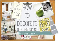 How to Decorate Series {day 14}: Presto Change-o's by The Lettered Cottage