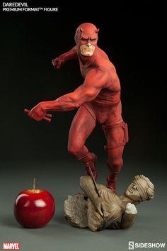 BLOG DOS BRINQUEDOS: Daredevil Marvel premium Format (TM) Figura