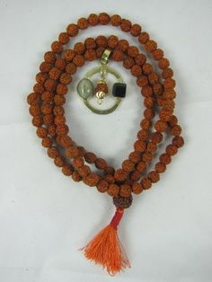 Rudraksha Prayer Mala Necklace Rudraksha Gomed Pendant Spiritual Religious Jewelry mogul interior, http://www.amazon.com/dp/B00BB94RBC/ref=cm_sw_r_pi_dp_0pCerb0WNFD24