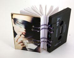 madonna - erotica      recycled cassette tape book  $18.00