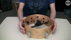 E-Drum Overview - 1/2 E Drum, Diy Drums, Homemade Instruments, Drum Kits, Percussion, Musical Instruments, Wood Projects, Guitar, Log Projects
