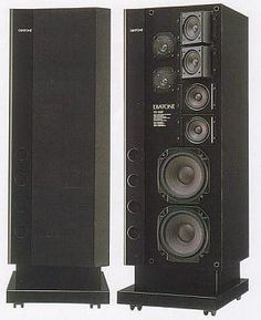 Mitsubishi: form zeros to hi-fi speakers Pro Audio Speakers, Audiophile Speakers, Tower Speakers, Hifi Audio, Bluetooth Speakers, Audio Engineer, Gadgets, Recorder Music, Speaker Design