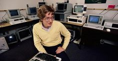 Technical resumes and coverletters sure have changed through the years. #BillGates #Microsoft