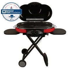 Price: (as of - Details) Show off your grilling skills on camping trips, on picnics, and at tailgating parties with the Coleman RoadTrip LXE Portable Propane Grill. This outdoor grill combines a collapsible, portable Outdoor Gas Grills, Outdoor Grill, Outdoor Camping, Camping Stove, Go Camping, Camping Grill, Camping Cooking, Bbq Stove, Propane Stove