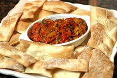 The Italian Dish - Posts - Daring Bakers: Lavash Crackers with PeperonataTopping