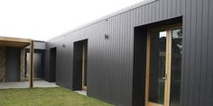 Everist Timber supplies high quality timber cladding materials including: Weathertex and weatherboards. Check out our range of exterior wall cladding products. Exterior Wall Cladding, House Cladding, Facade House, Black Cladding, Cedar Cladding, Building Design, Building A House, Composite Cladding, External Cladding
