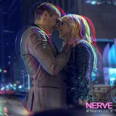 Emma Roberts and Dave Franco play a dangerous game in #Nerve - In theaters July 27! #WatcherOrPlayer