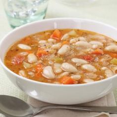 White Bean Soup (Fassoulatha) Recipe