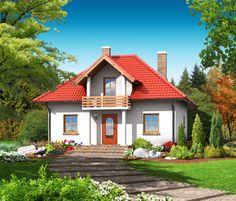 DOM.PL™ - Projekt domu DP grabczyn CE - DOM PK3-45 - gotowy projekt domu