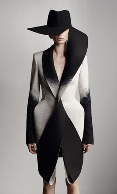 Dion Lee's Woolmark collection