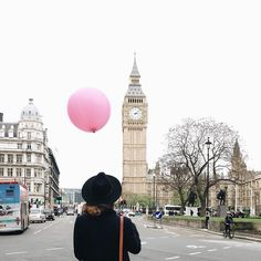 Anna Dawson, Big Ben, The Dreamers, London, Rose, Instagram Posts, Travel, Hapy Day, Pink