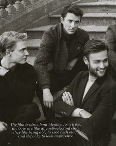 The Riot Club, photographed by Scott Trindle for Vogue UK.