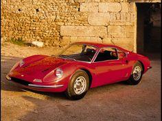 1967 Ferrari Dino 206 GT - Google Search