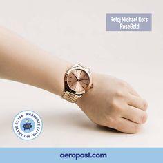 Hora de brillar con #relojes Michael Kors.   ¡Y SI NO TE GUSTA, LO DEVUELVES! Forever 21, Michael Kors Watch, Rose Gold, Ebay, Watches, Accessories, Glow, Tents, Clocks