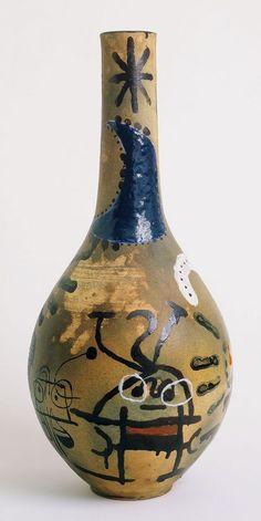 Always loved Miro.Grand vase by joan miró