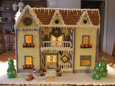 All sizes | my first gingerbread house '06 | Flickr - Photo Sharing!