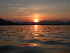 Sunset, Ossipee Lake