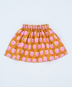 Loving this Pink Apple Frosting Skirt - Infant, Toddler & Girls on #zulily! #zulilyfinds