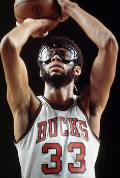 Kareem brought the goggles to hip hop