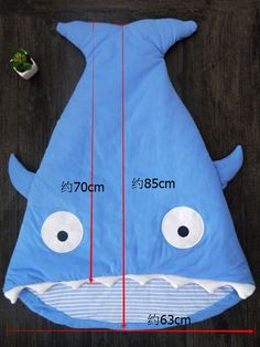 shark-pattern-cute-thicken-baby-sleeping-bag-29379_4.jpg (750×1000)