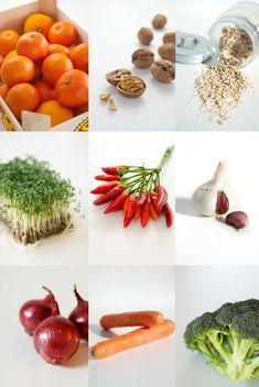 Die gesündesten Lebensmittel für Körper, Geist und Seele.