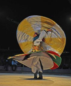 All images: Dance performers in the Egyptian desert about an hour inland from Sharm El Sheikh Taken over a year ago, it was dark, I was tired and incredibly thirsty and we had… Continue reading → Amelia Peabody, Whirling Dervish, Sharm El Sheikh, Sufi, Egyptian, Flow, Stuff To Do, Deserts, Frames