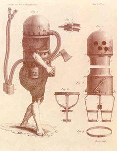 Karl Heinrich Klingert diving suit, 1797
