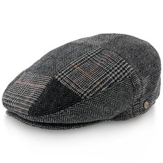 db84ae70e532b Tribeca - Walrus Hats Tweed Patchwork Ivy Cap Driving Cap