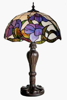 Настольные лампы Тиффани Stained Glass Lamps, Stained Glass Patterns, Fused Glass, Tiffany Art, Tiffany Glass, Light Art, Lamp Light, Pink Lamp, Vintage Lamps