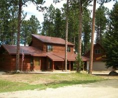 Deadwood Vacation Rental - VRBO 513236 - 5 BR Black Hills Apartment in SD, This Cabin is Located on Deer Mountain